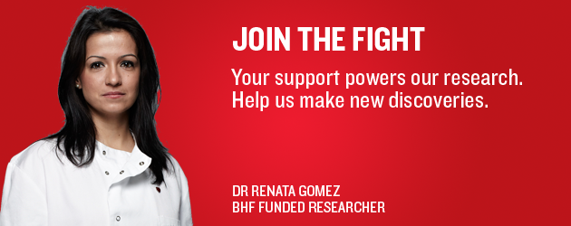 Our research on heart disease is powered by your support
