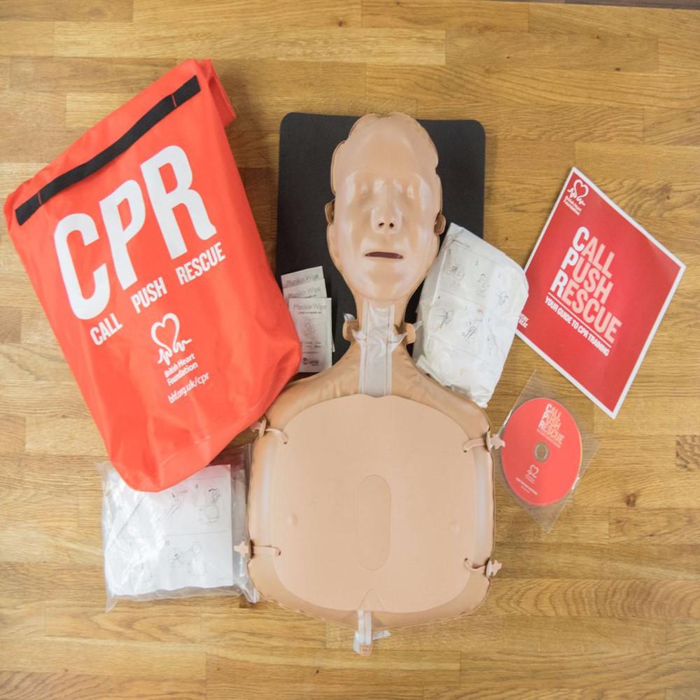 CPR training kits