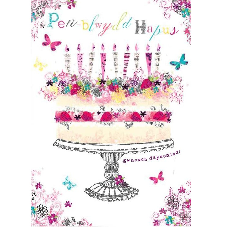 Welsh Birthday Card Birthday Cards Cards – Birthday Card Images