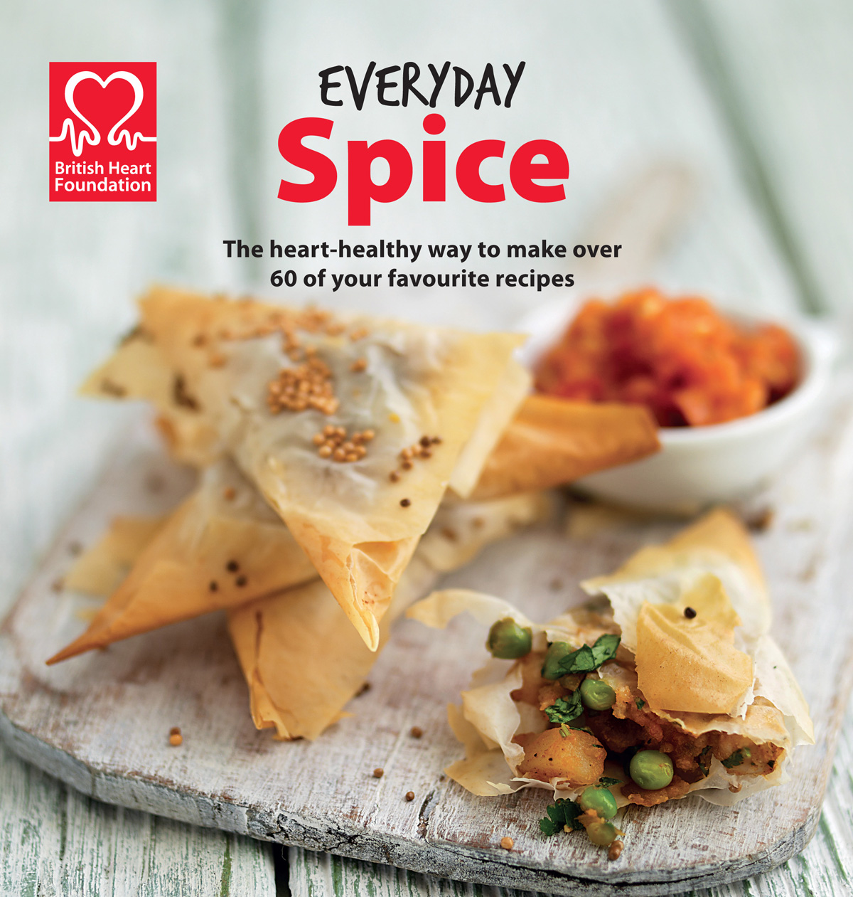 British heart foundation recipe books heart healthy meals image for everyday spice bhf recipe book forumfinder Choice Image