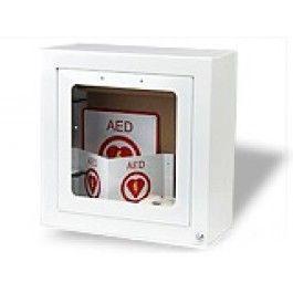 """image of Standard Wall Cabinet 7"""" designed to hold AED Plus"""