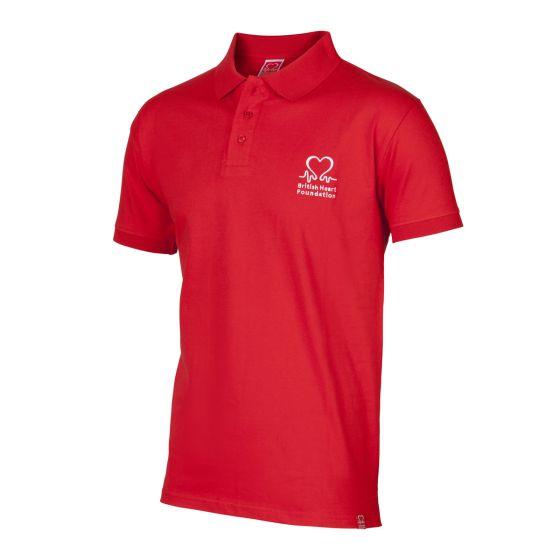 British Heart Foundation Polo Shirt, Men's