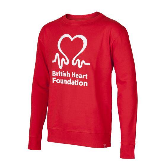British Heart Foundation Sweatshirt, Men's