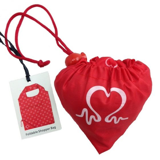 British Heart Foundation Foldable Shopping Bag