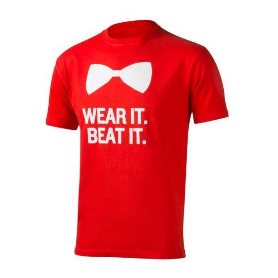 Wear It. Beat It. Bow Tie T-shirt, Men's