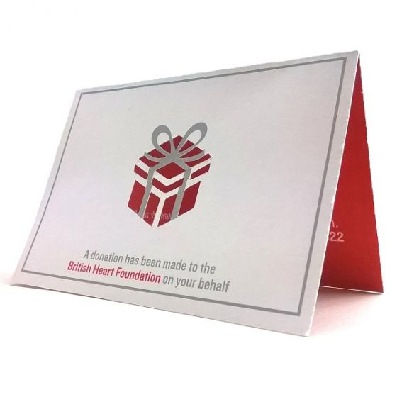Donation Place Cards