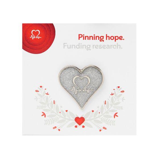 image-of-silver-glitter-wedding-pin-badge