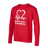 Image for British Heart Foundation Sweatshirt, Men's