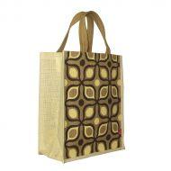 Image for Cream Retro Jute Bag