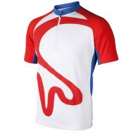 Image for Men's BHF Cycling Top: Red, Blue and White