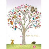 Image for Just To Say Greetings Card