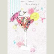 Special Cocktail Birthday Card