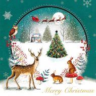 Woodland Reindeer Christmas Cards