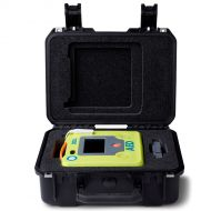 image of small rigid plastic case for AED 3