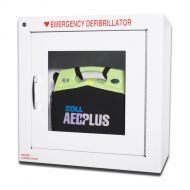 "Image of Standard Wall Cabinet 9"" designed to hold AED Plus"