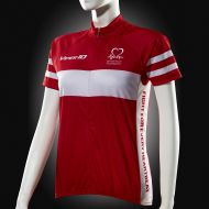 Image for Cycling Jersey, Red and White, Short-sleeve, Women's