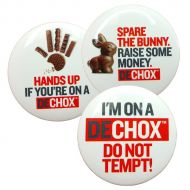 Image for DECHOX Badges, set of 3