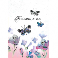 Image for Thinking Of You Butterflies Card