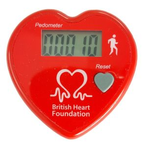 Image for Heart Shaped Pedometer