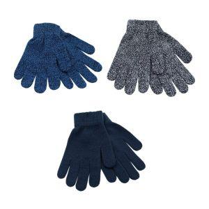 Boys 3pk Mixed Magic Gloves