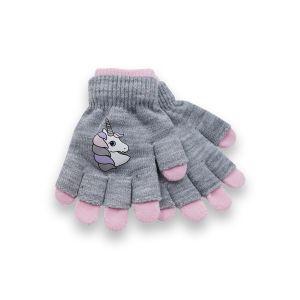 Girls 2in1 Unicorn Gloves