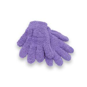 Girls Lilac Snow Soft Magic Gloves