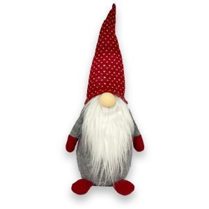 Grey Plush Gnome