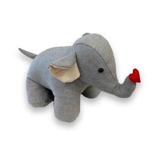 Elephant Heart Doorstop
