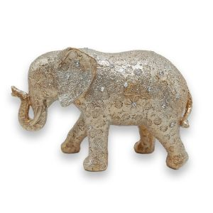 Medium Gold Elephant