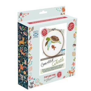 The Crafty Kit Company Turtle Cross Stitch Kit