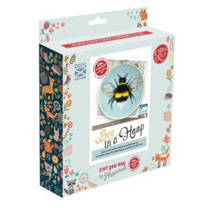 The Crafty Kit Company Bee Needle Felting Kit