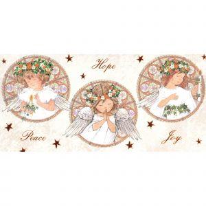 Praying Angel Windows Christmas Cards