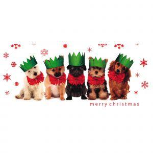 Festive Dogs Christmas Cards