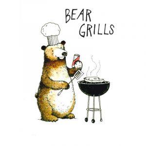 Bear Grills Card