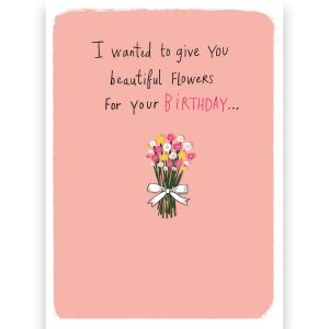 Birthday Flower Seeds Card
