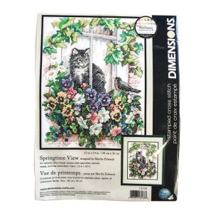 Spring Time View Cross Stitch