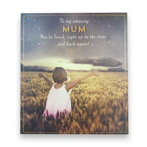 Love you to the Stars Mum Card