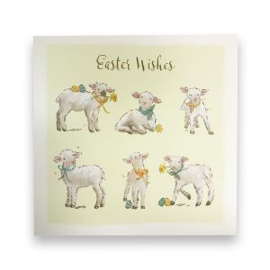Easter Lambs Card