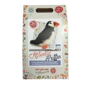 Atlantic Puffin Needle Felting Kit