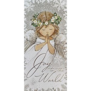 Praying Angel and Mistletoe Christmas Cards