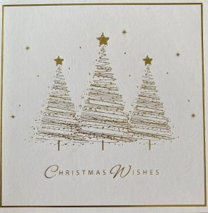 Trio of Trees Christmas Cards