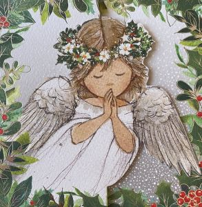 Praying Angel Classic Christmas Cards