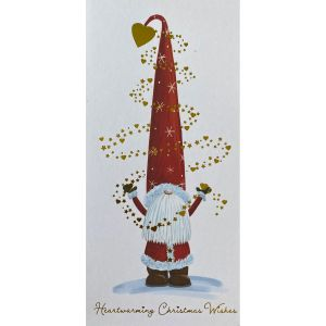 Heartwarming Santa Christmas Cards