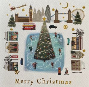 Iconic London Christmas Cards
