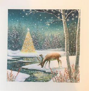 Woodland Stag Christmas Cards