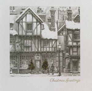 Tudor Street at Christmas Cards