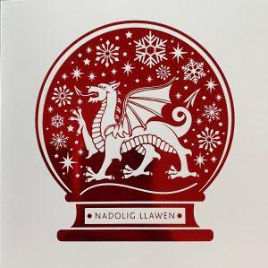 Welsh Nadolig Llawen Snowglobe Christmas Cards