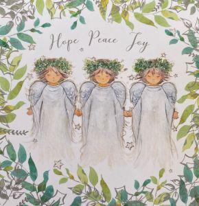 Trio of Angels Christmas Cards