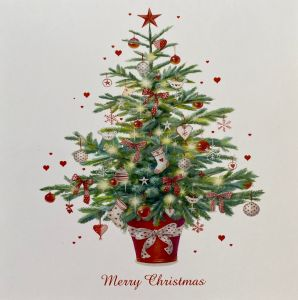 Classic Christmas Tree Christmas Cards