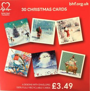 Bumper Box 30 pack Christmas Cards